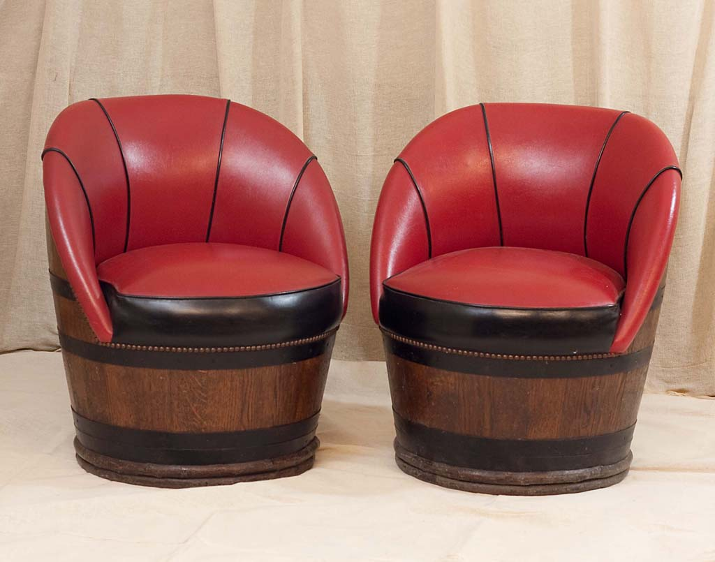 whiskey barrel furniture : pair of barrel chairs from quoteimg.com size 1024 x 805 jpeg 88kB